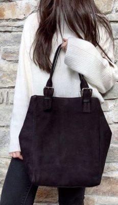 gran venta 5389e 6195b bolsos de piel grandes tendencia en españa para el 2019- Otuoyo
