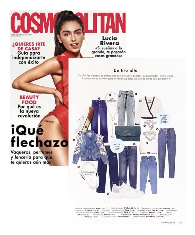 """La revista cosmopolitan propone el bolso TUOYO COCO MEDIUM para un look """"TOTAL"""""""