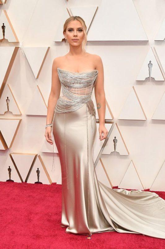 Vestido Scarlett Johanson Oscars 2020
